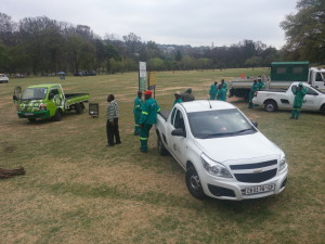 Joburg City Parks team